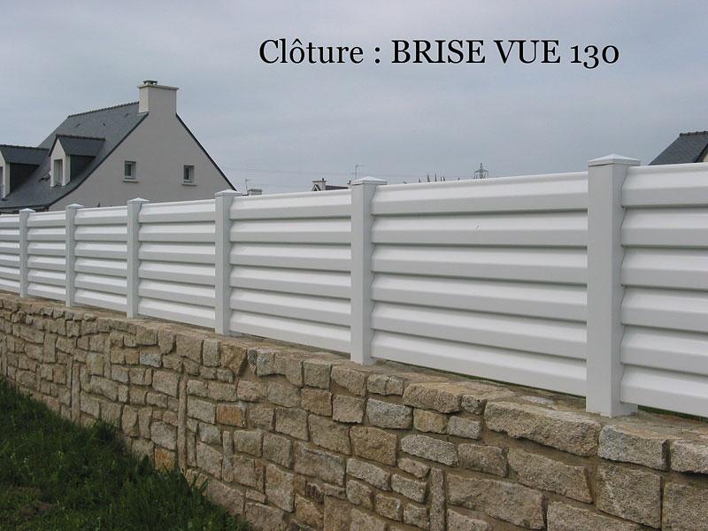 Cl ture pvc brise vue sur mesure habitat discount for Cloture exterieur pvc