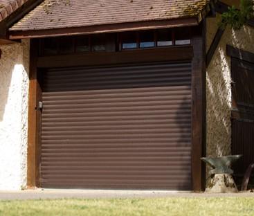 Porte de garage enroulable habitat discount portes garage - Porte garage roulant ...
